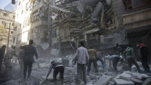 Aleppo Bombing