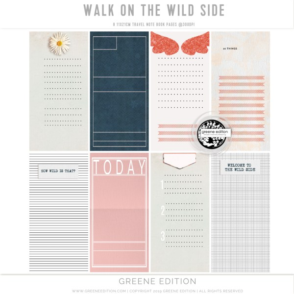 Walk On the Wild Side, copyright greene edition 2019