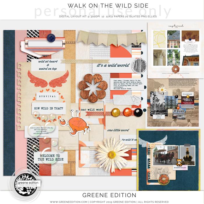 Walk On the Wild Side, copyright greene edition 2019