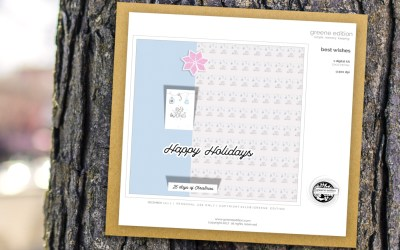 Freebie: Best Wishes Mini Kit