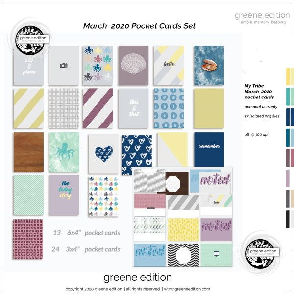 My Tribe Mini Kit, greene edition, copyright 2020 greeneedition.com