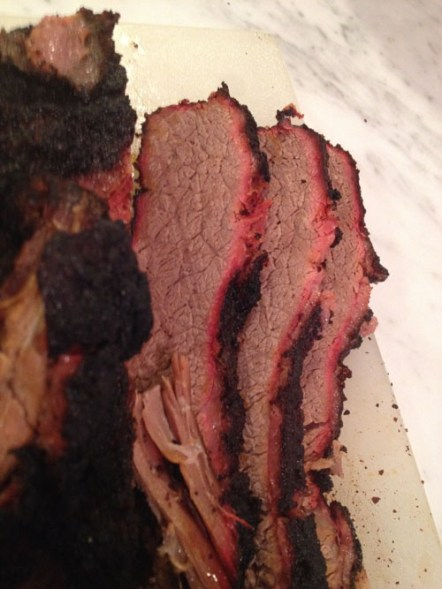 Brisket Flat slices