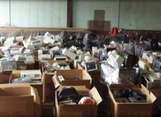offshore electronic waste