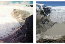 glacier comparison
