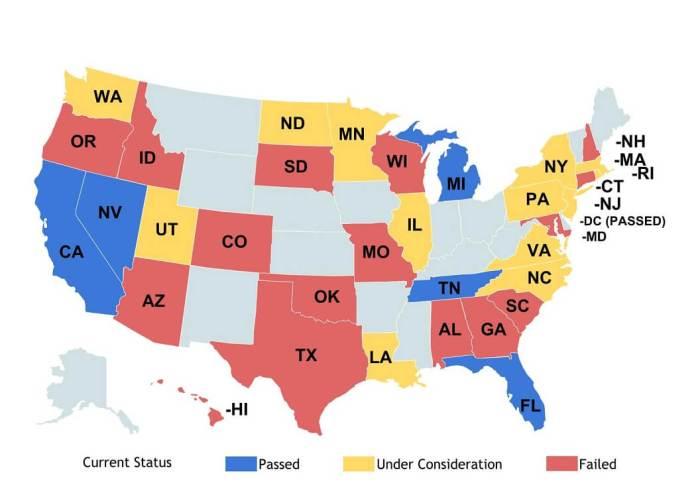 status map driverless car regulation