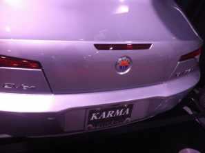 Fisker Karma Electric Car