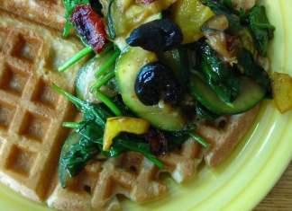 Savory Gluten Free Waffles 3