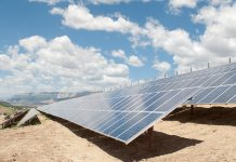 Garfield County solar garden in Colorado