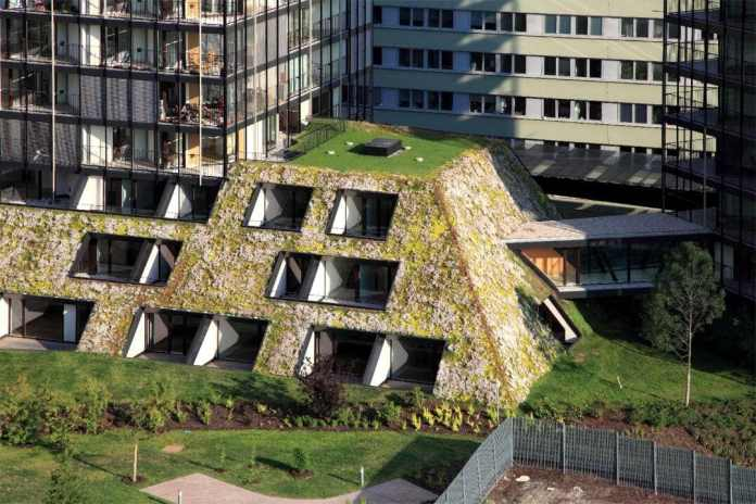 Prague eco building