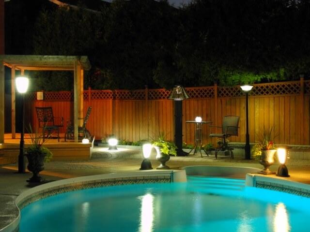 Free Light solar lights at night