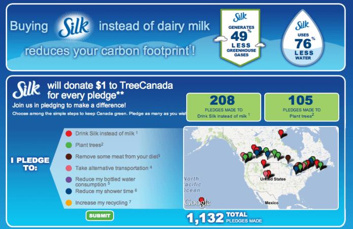 Silk Canada Carbon Calculator