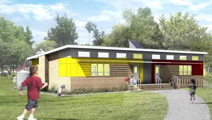 SAGE Affordable Green Modular Classroom