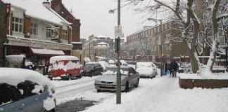 Europe winter weather