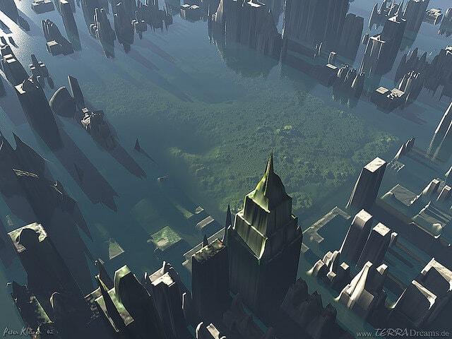 rising waters global warming