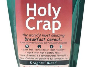 Holy Crap cereal in space