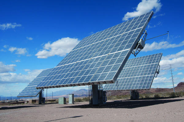 Solar arrays (Amonix)