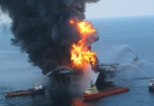 Deepwater Horizon oil sheen