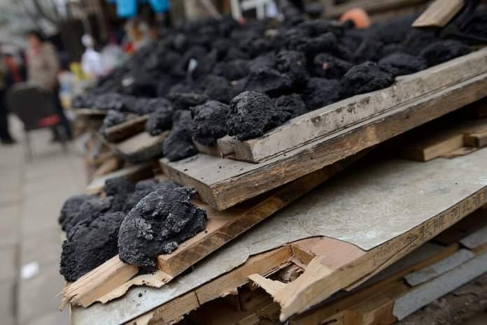China coal burning