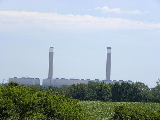 Ontario coal plant