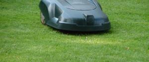 solar powered lawn mower