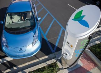 Nissan quick charge eVgo Leaf