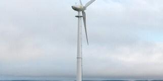 Dairy farm wind turbines