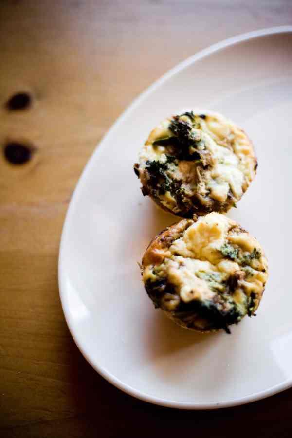 Vegetarian Lactose Free Broccoli Quiche Recipe