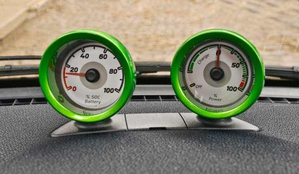 2013 Smart EV Gauges