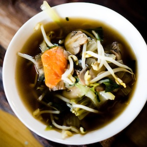 Simple Vegetarian Vietnamese Soup Recipe