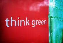 Coca-Cola think green