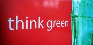 Coca-Cola think green