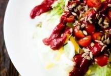 Lactose-Free Creamy Beet Salad Dressing-sm