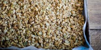 Maple Pumpkin Seed Granola