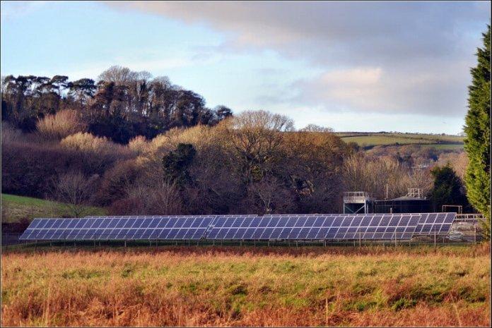solar panels in the UK