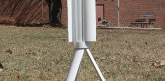 Trinity portable wind turbine