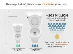 toilet water stats