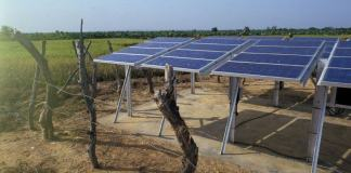 African solar panels