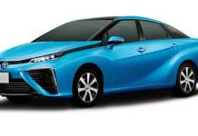 Toyota Mirai hydrogen fuel cell vehicle