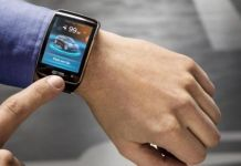 BMW i3 smart watch app