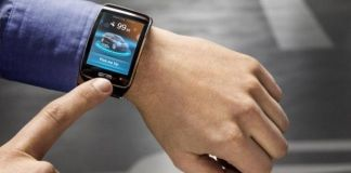 BMW i3 smart watch app