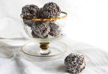 protein coconut snowballs