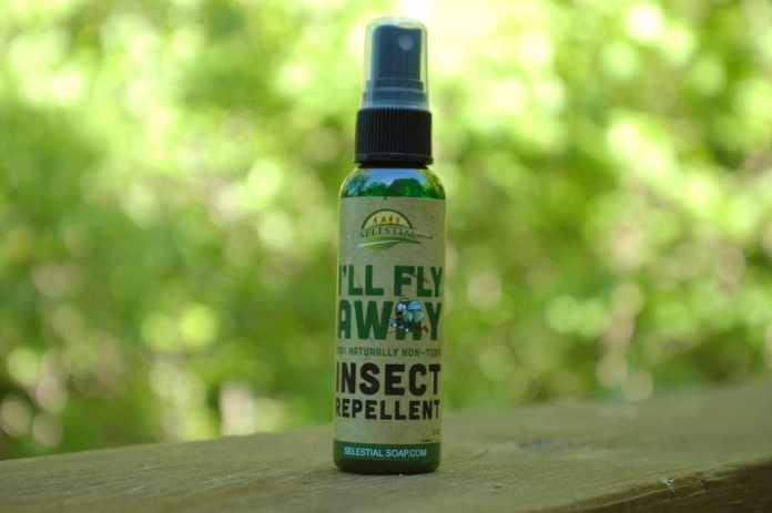 mygreenfills fly away non-toxic insect repellant