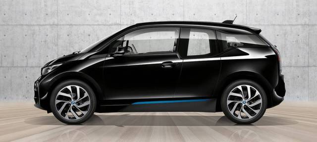 2017 BMW i3 electric car