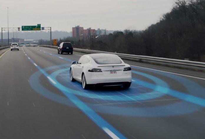 Tesla driverless car feature