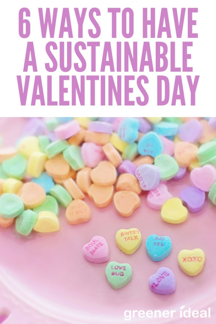 There are a few ways to reduce the environmental impact of Valentine's Day without losing the romance and while still having a memorable day.   Here are a few ways to make this Valentine's Day asustainableholiday to remember.