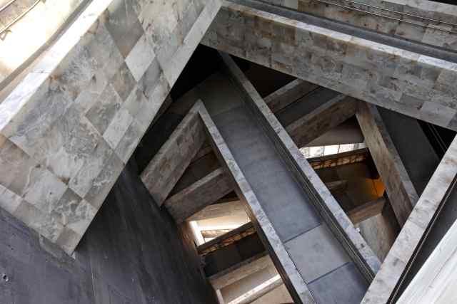 natural stone stairways