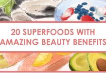 superfoods beauty header