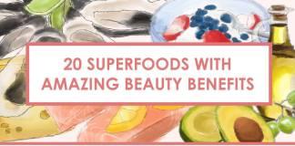 superfoods beauty header
