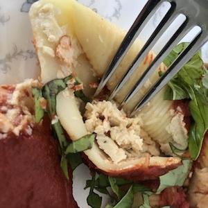 Vegan Ricotta Cheese Pasta