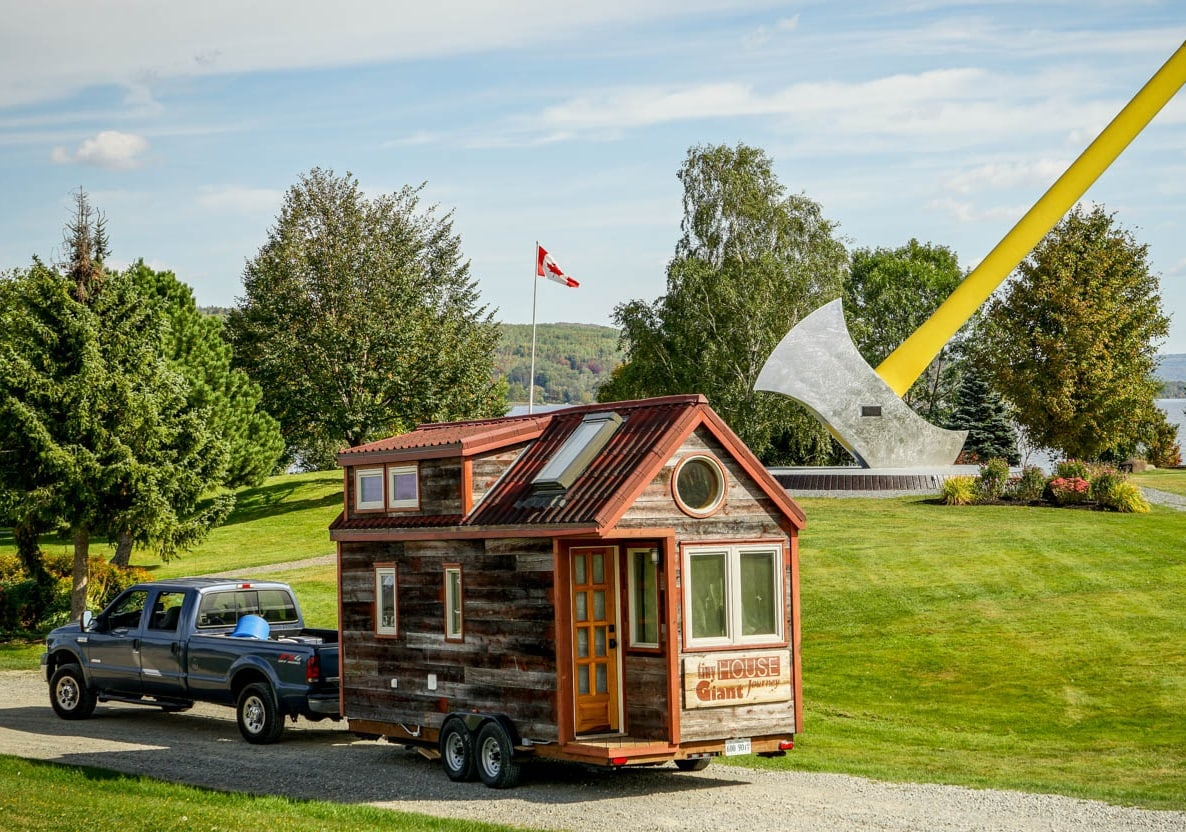A Tiny House Allows You To Be Mobile